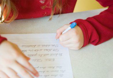 تحسين الخط ومشاكل الكتابة عند الطفل-تدريبات الخط والكتابة