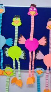 اعمال فنية بالورق الملون للاطفال