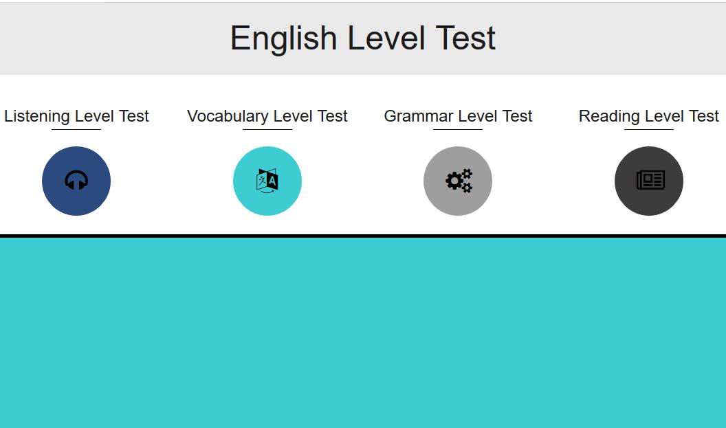 اختبار انجليزي تحديد مستوى -مواقع مجانيه